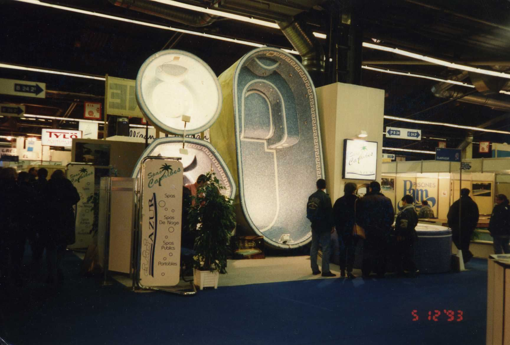 1er Salon de la Piscine de Paris (1993)