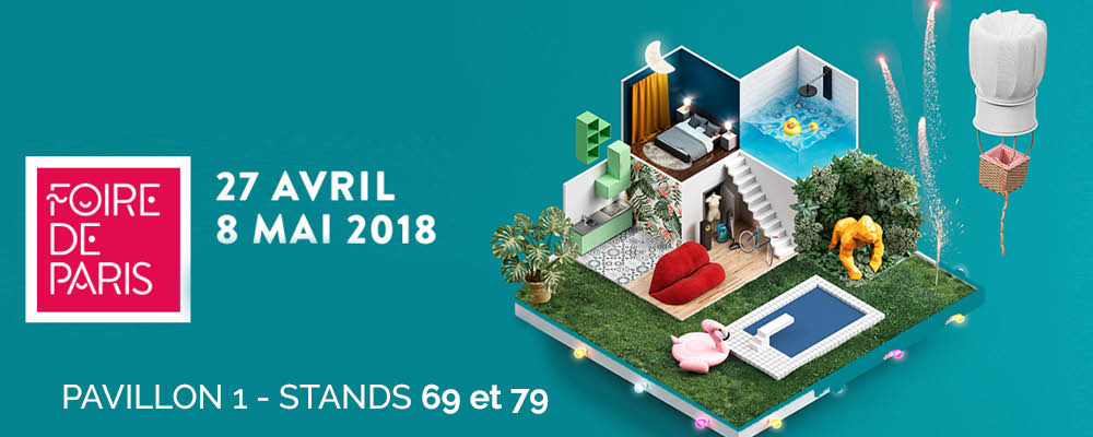clairazur la foire de paris du 27 avril au 8 mai 2018. Black Bedroom Furniture Sets. Home Design Ideas