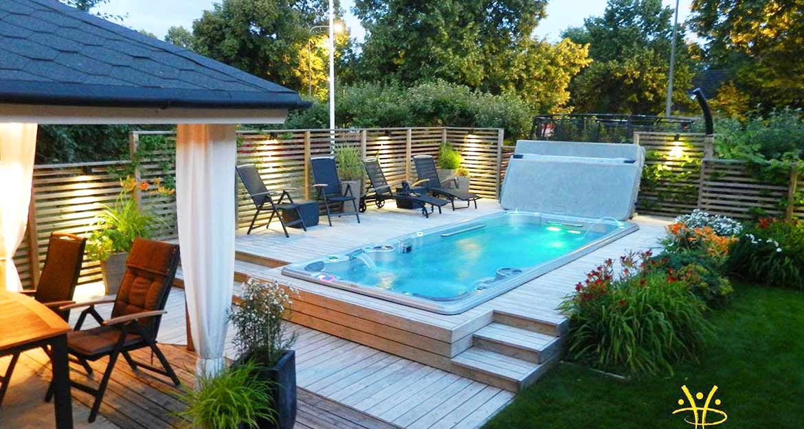 mini piscine pour un maximum de plaisir d couvrez nos piscines de nage. Black Bedroom Furniture Sets. Home Design Ideas